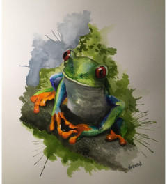 Tree Frog SOLD sorry!