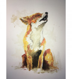 Howling Fox SOLD sorry!