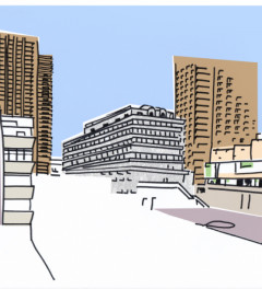 Barbican Series 2016 Postcards