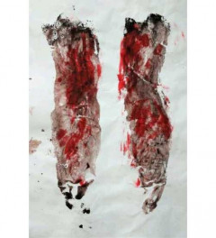 Visualisations of pain/printed legs