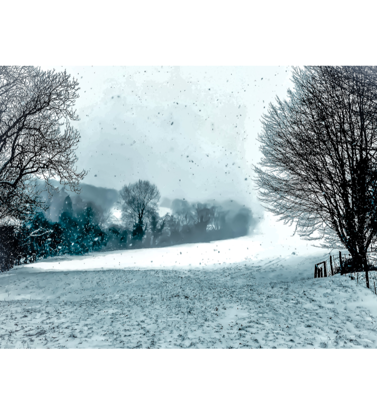 Snow in the Cotswolds