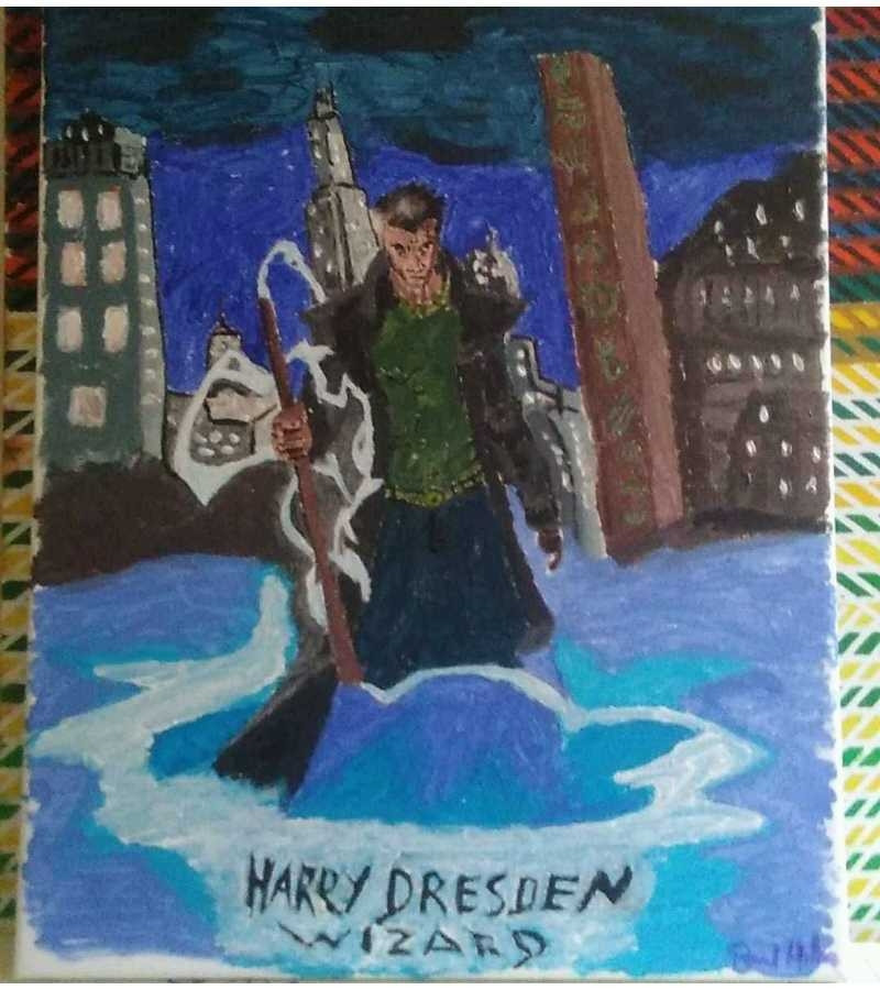 Harry Dresden Sold!