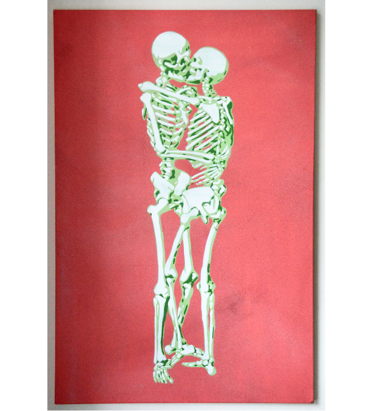 Kissing Skeletons