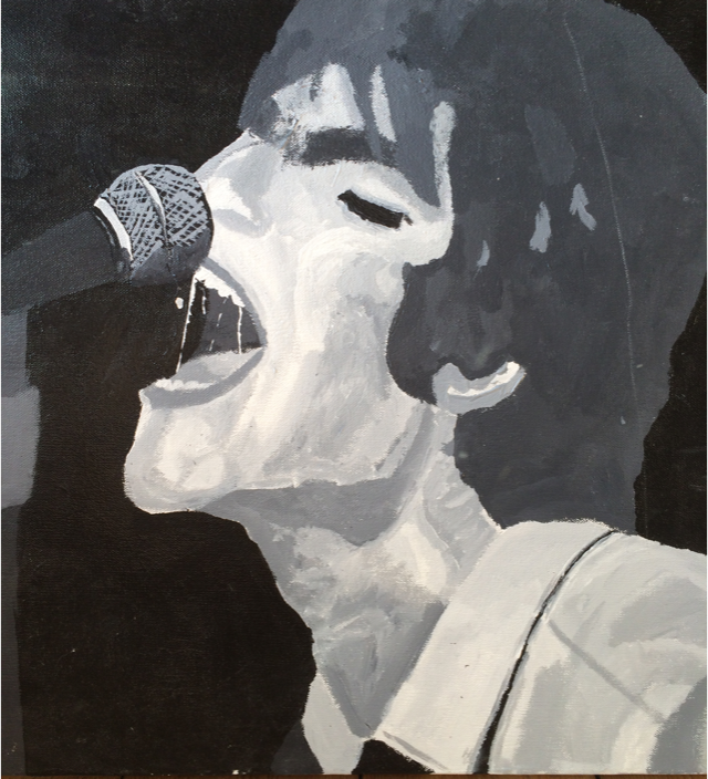 Liam Gallagher Canvas