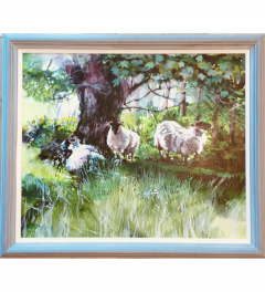 Sheep at Kilchoan (Fete Galante)