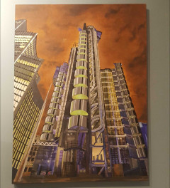 Lloyds of London at Dusk (Sold)