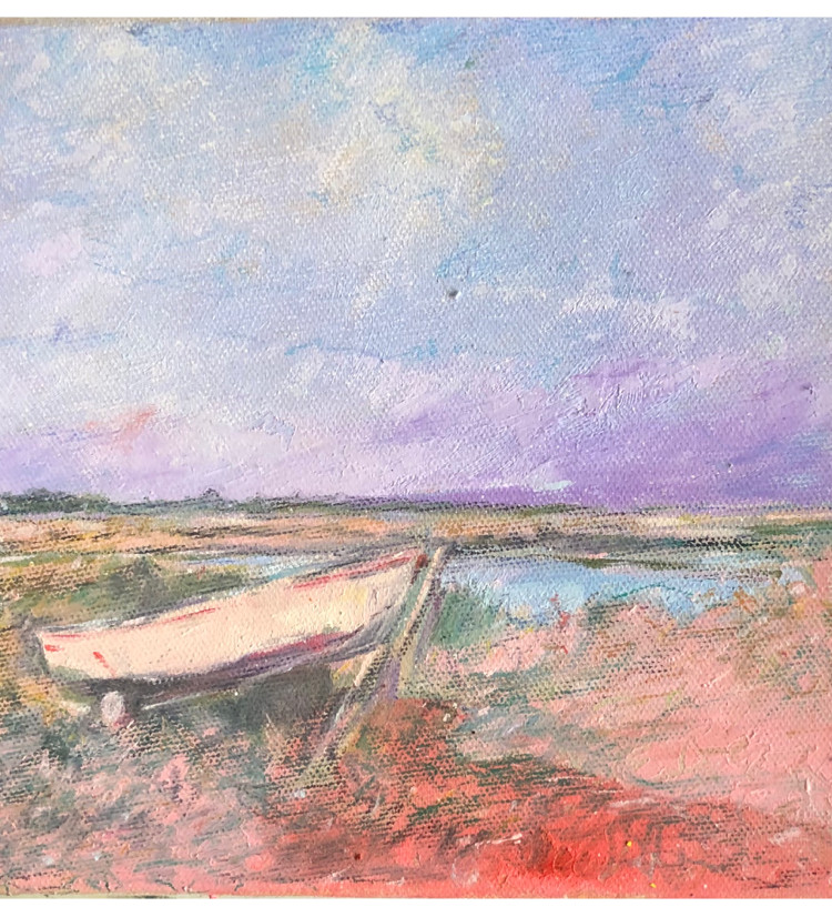 Boat on the Saltmarsh