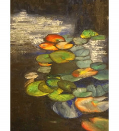 Waterlilies leaves