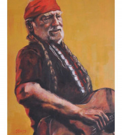 Willie Nelson With A Bandana