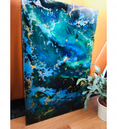 Oceana inspired resin art