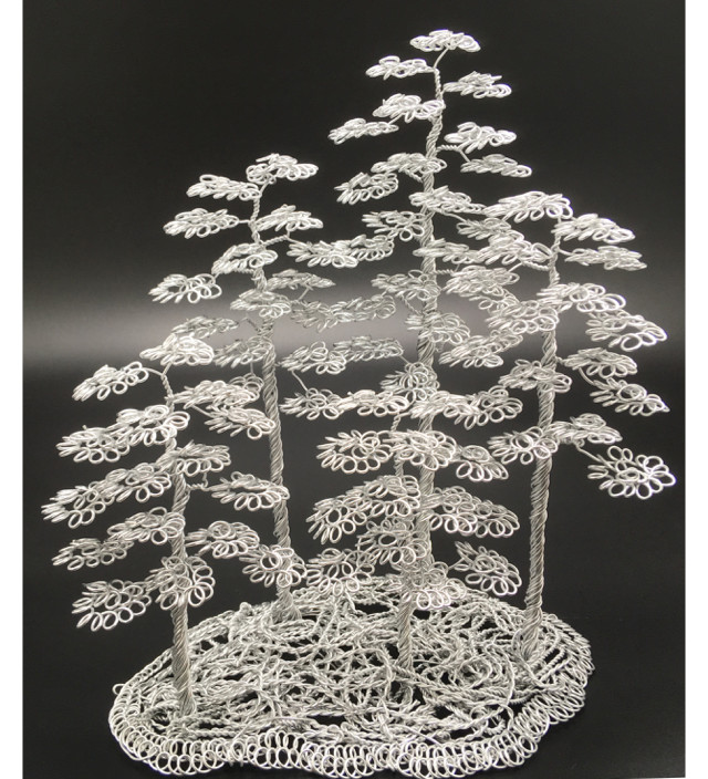 Wire tree lubos, forest bonsai