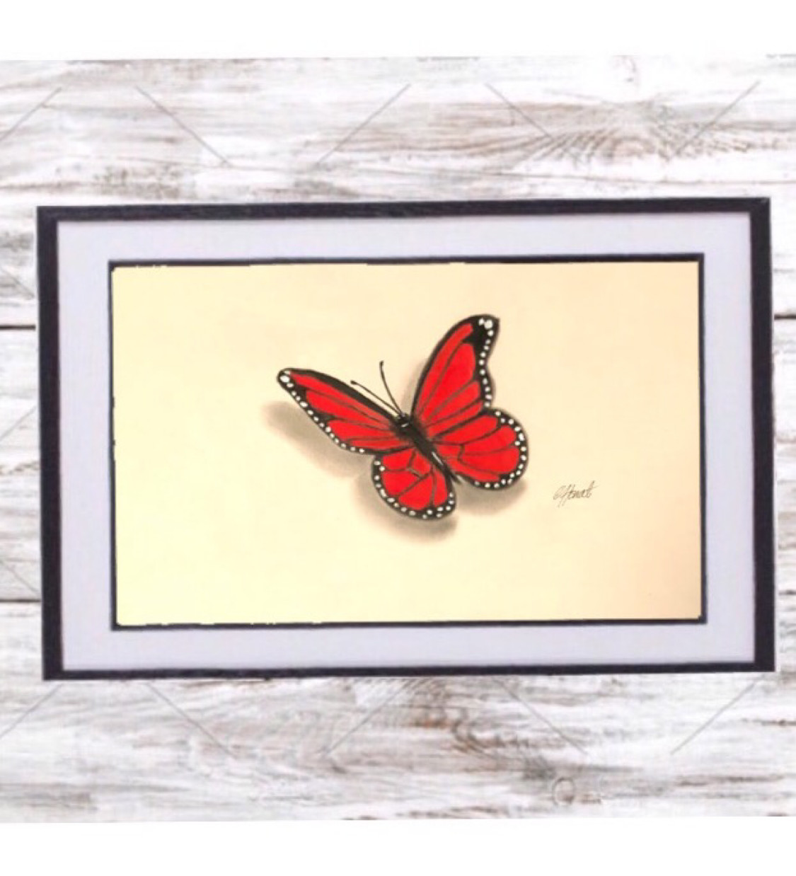 Red butterfly