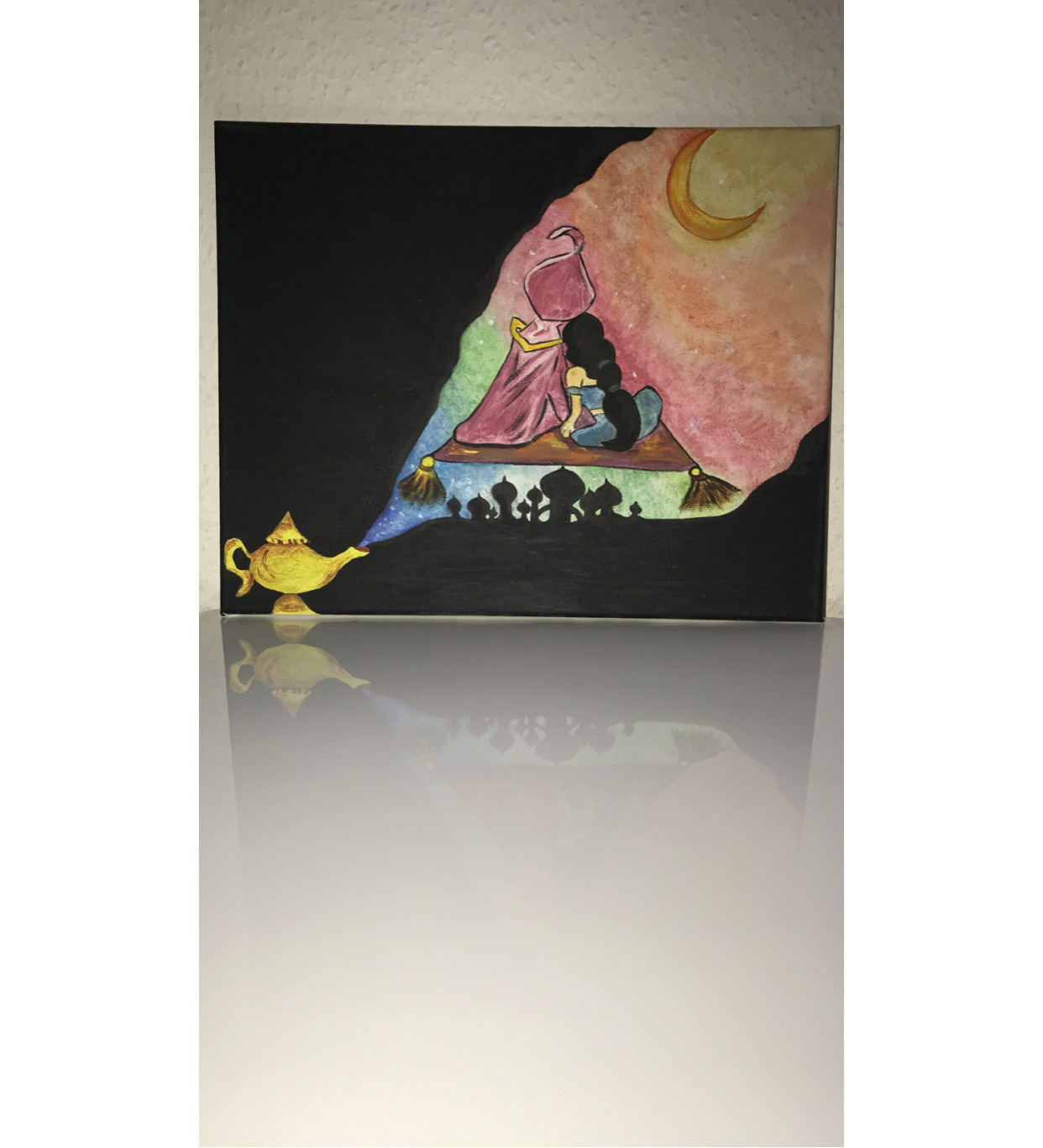 Disney inspired canvases