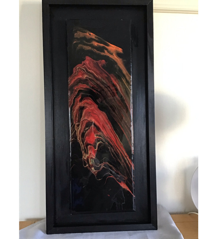 Flash of red.  SOLD