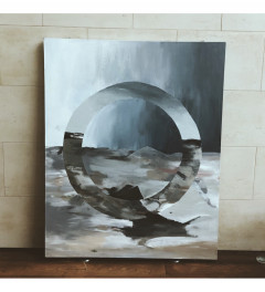 Large Abstract Landscape