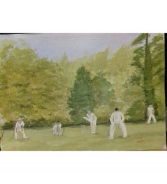 Ickwell cricket on the gree