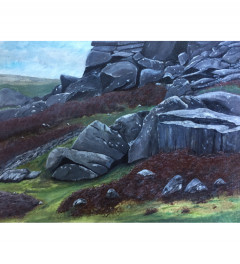 Bone Hill, Dartmoor - **SOLD but prints available