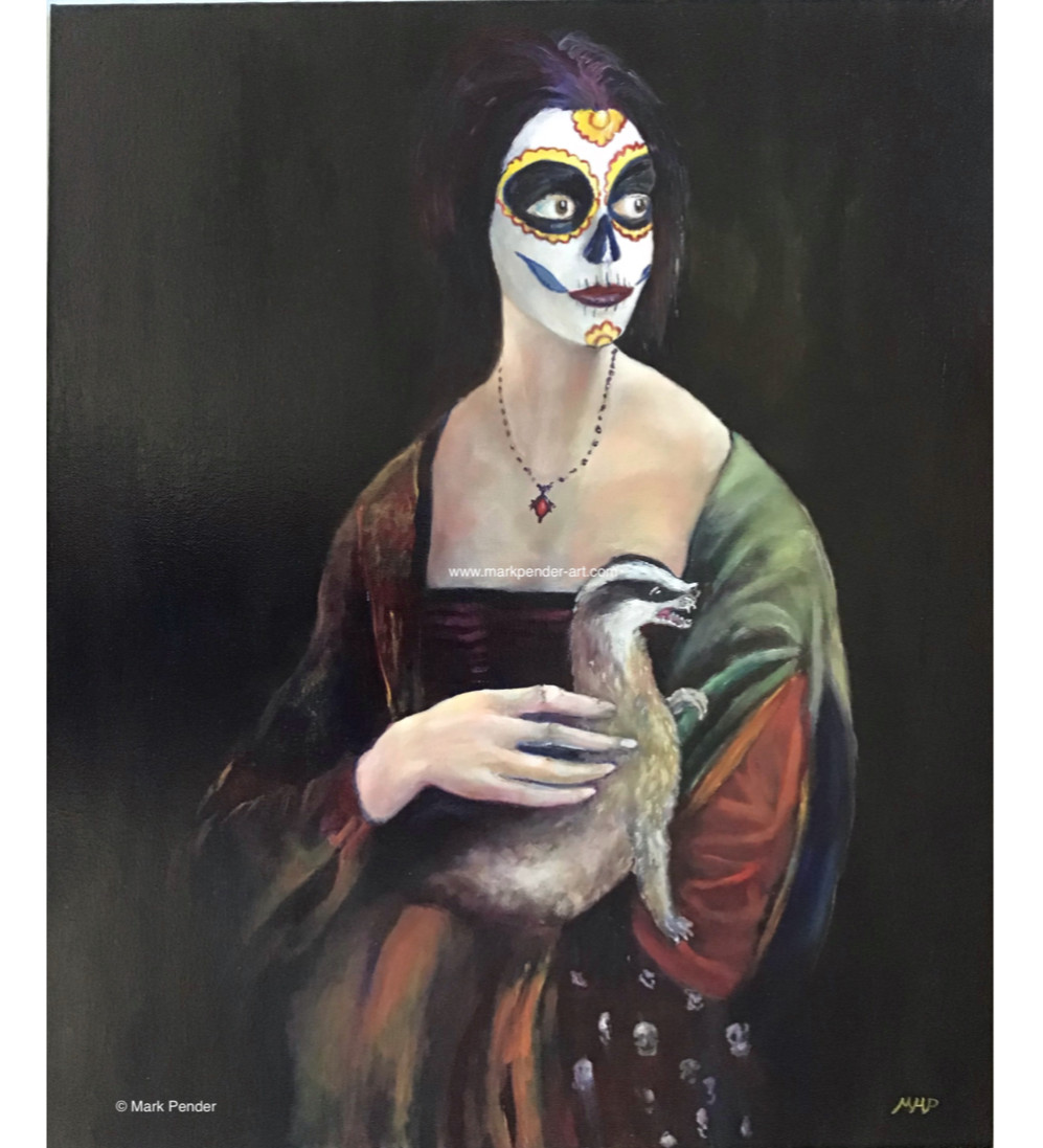 Lady With a Badger