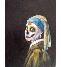 Girl With a Skull Earring