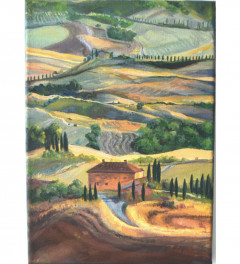 Rolling Hills of Tuscany A4