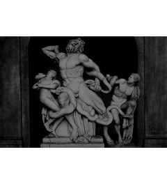 Laocoon and his sons pencil drawing