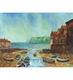 Staithes in Summer