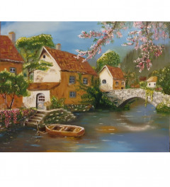 A house by the river