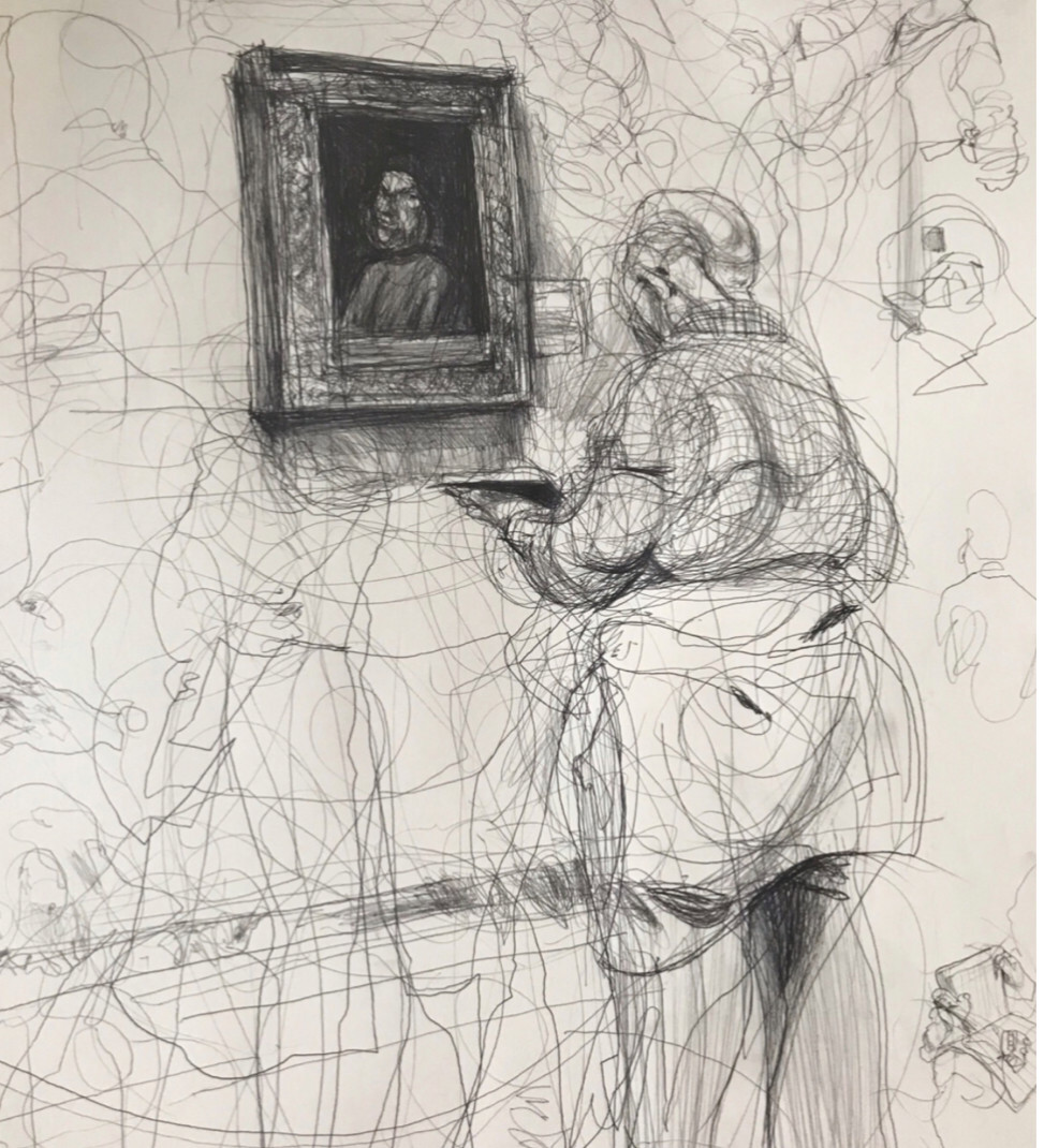 Untitled [Drawing the Artist]