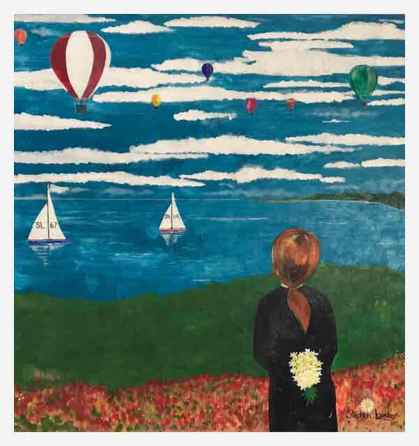 The Girl, Balloons and Sails