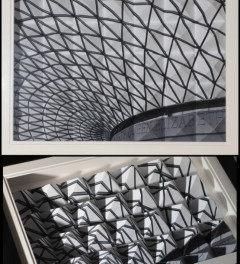 3D pyramid art of the British Museum