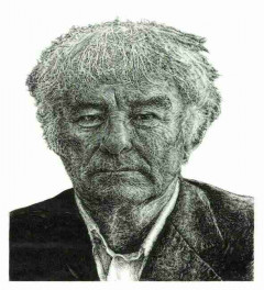 Seamus Heaney original portrait