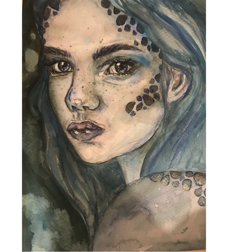 Young mermaid