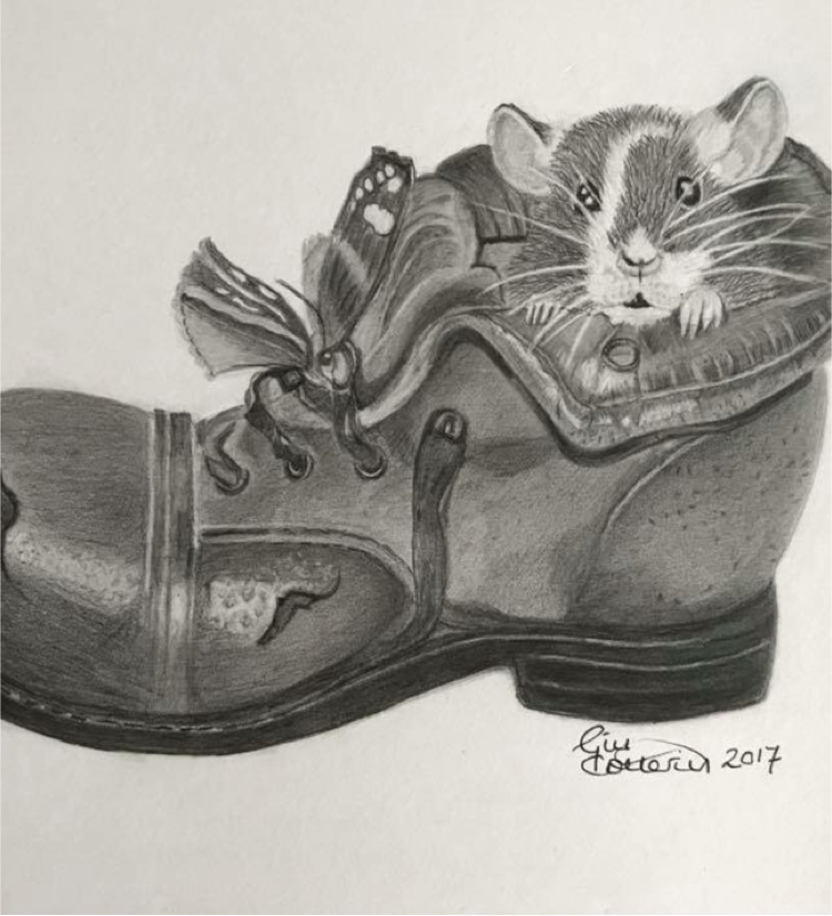 Mouse in Boot