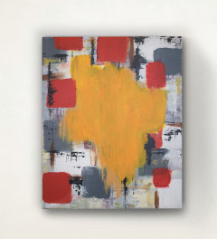 Creative Mind. Abstract Acrylic painting
