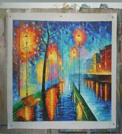 A1 hand painted oil painting