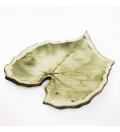 Ceramic Leaf Serving Platter