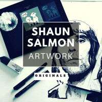 Shaun Salmon Artwork